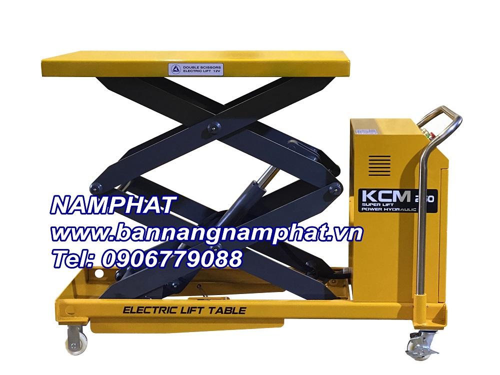 Bàn nâng tay 300KG, Model: EM209