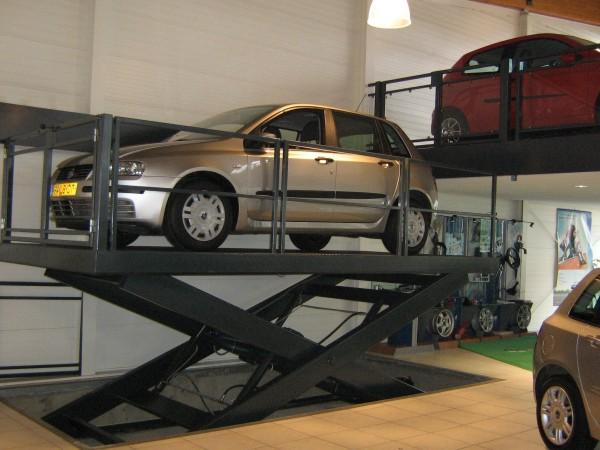 Bàn nâng xe ô tô một tầng 3000kg